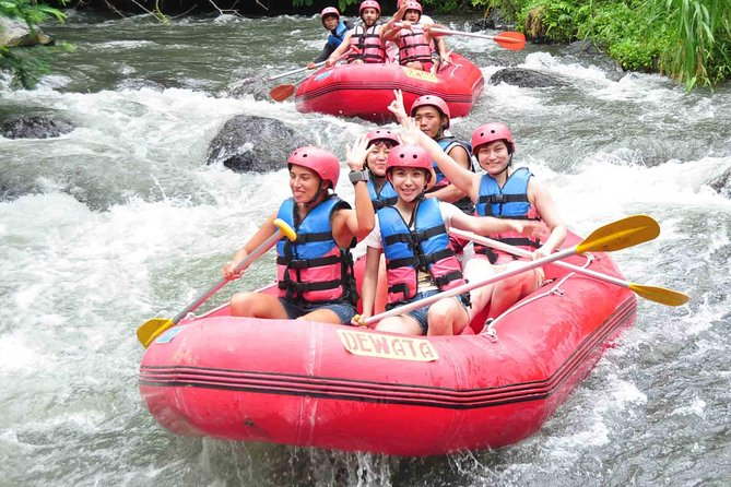 Bali Activity: White Water Rafting and Spa Packages