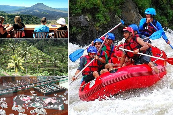 Telaga Waja White Water Rafting and Kintamani Volcano Tour