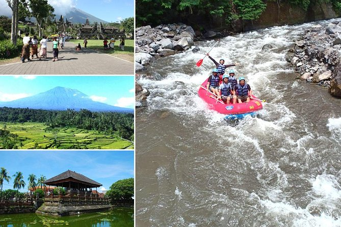 Telaga Waja White Water Rafting and Besakih Temple Tour