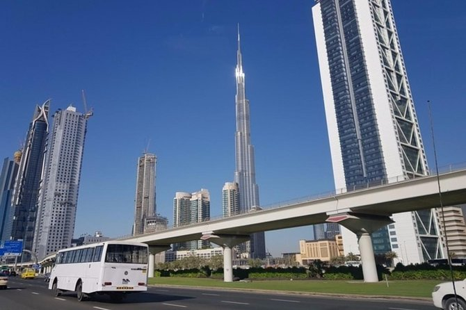 Dubai Half-Day City Tour with Burj Khalifa Ticket