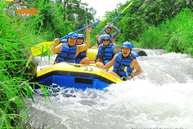 Telaga Waja River 5 Star Sobek Adventure Rafting-Private Return Transfer-Lunch