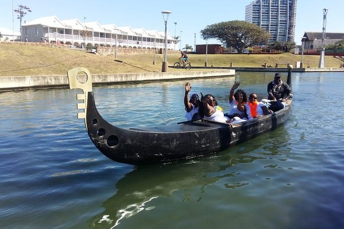 African Gondola Boat Ride at Durban Point Waterfront Canal photo 4