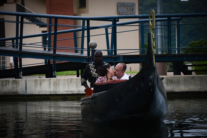 African Gondola Boat Ride at Durban Point Waterfront Canal photo 8