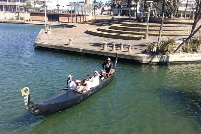 African Gondola Boat Ride at Durban Point Waterfront Canal photo 7