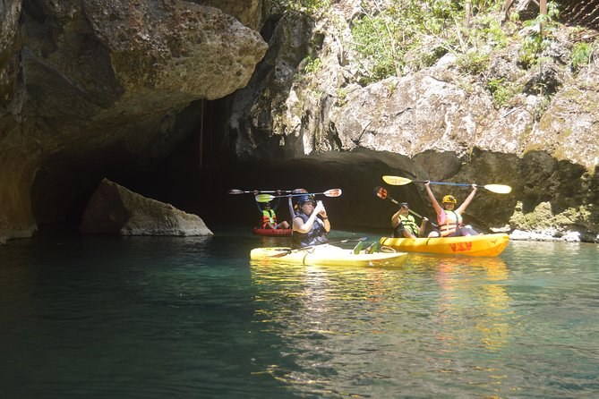 Private Cave Kayaking v.i.v and Zip Tour