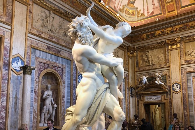 Borghese Gallery Private Guided Tour including tickets, hotel pick up & drop off