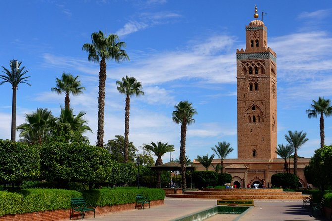 Marrakech city : private half day walking tour