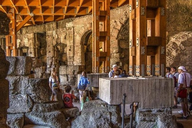 Exclusive Colosseum Underground and Roman Forum special tour| Super VIP Entry