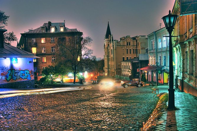 Mystical Podil Kyiv show walk