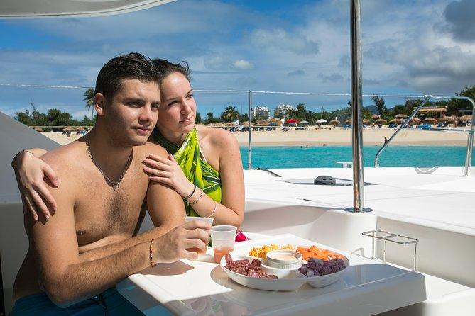 Luxury Private Full-Day Catamaran Charter in St Maarten & Saint-Martin