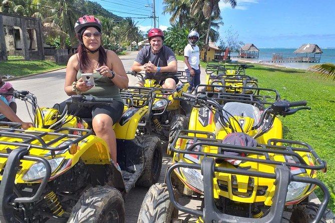 ATV, Zipline, Sloth Park and Beach
