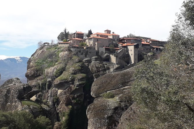Meteora tour by coach from Corfu