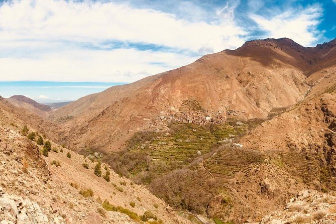 High Atlas Mountains Day Trip and Camel Trek