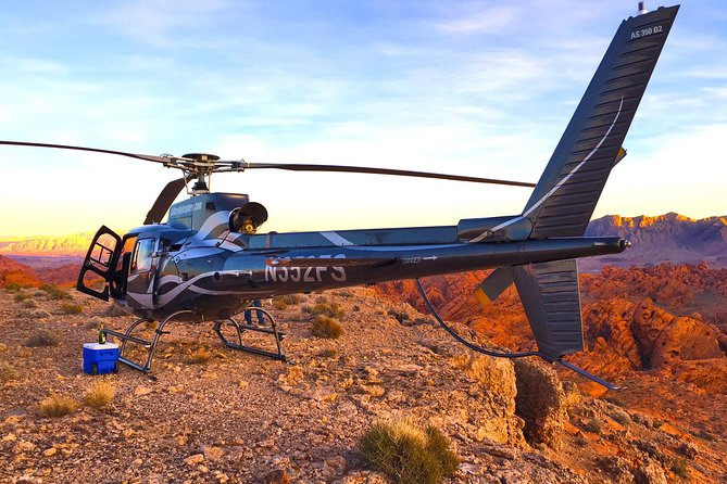 Grand Canyon Helicopter Flight with Valley of Fire Landing