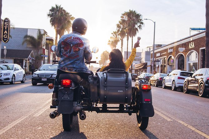 Los Angeles Sidecar Tour - Experience LA by retro sidecar motorcycle!