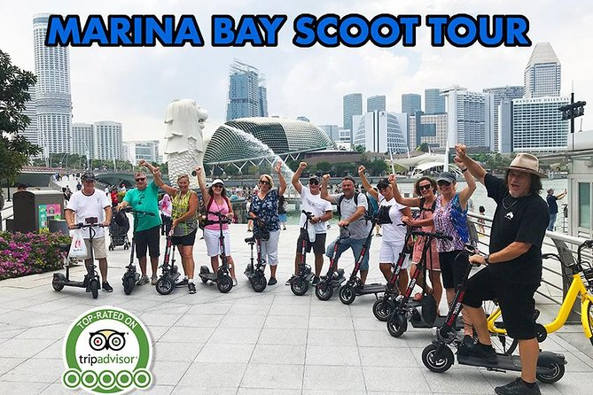 Marina Bay Scoot Tour