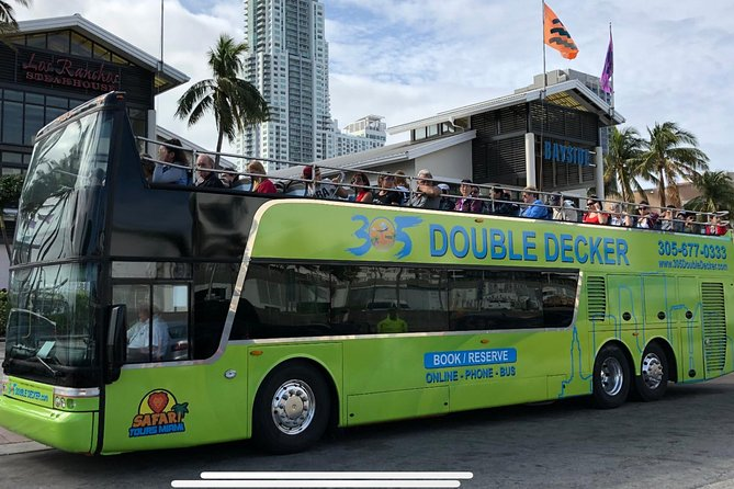Triple Combo Saving Miami City Tour plus Everglades Plus