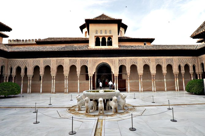 Alhambra and Nasrid Palaces Ticket with Audioguide