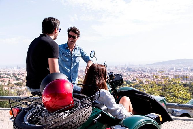 Barcelona Sidecar Tour - Highlights