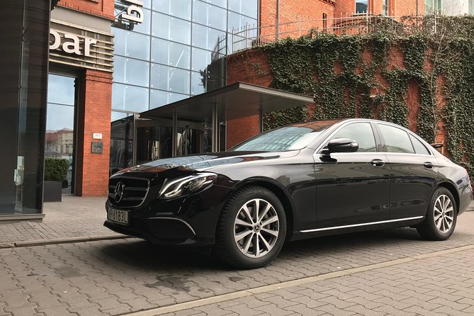 VIP airport transfer in Krakow (KRK) - Mercedes S-Class with private driver