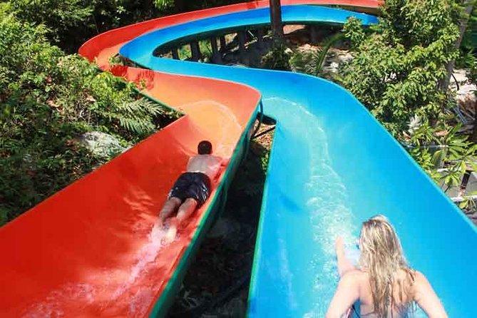 Big Boop Boop - Koh Samui Jeep Tour with Waterfall Waterslides Ziplines & Lunch