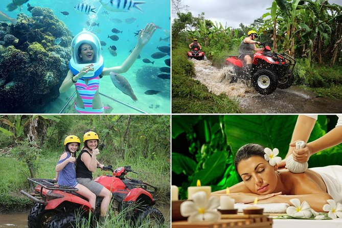 Bali Seawalker - ATV Ride - Spa : Best Quad Bike Packages