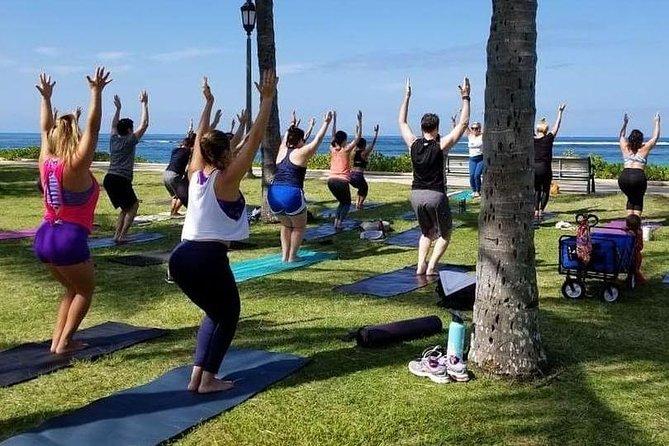 Power Vinyasa Yoga On the Beach