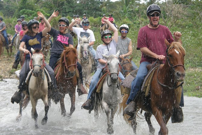 Punta Cana River Horseback Riding and Zipline Tour
