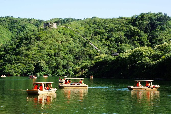 Huanghuacheng Water Wall Chartered Boat Ride and Beijing Olympic Stadiums Visit