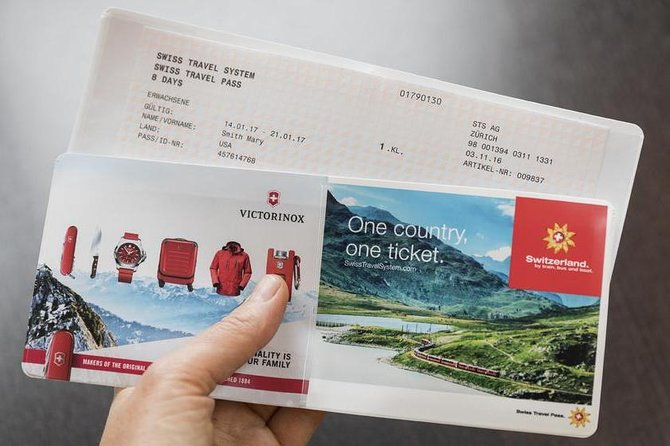 Swiss Travel Pass - All in One Ticket for Switzerland