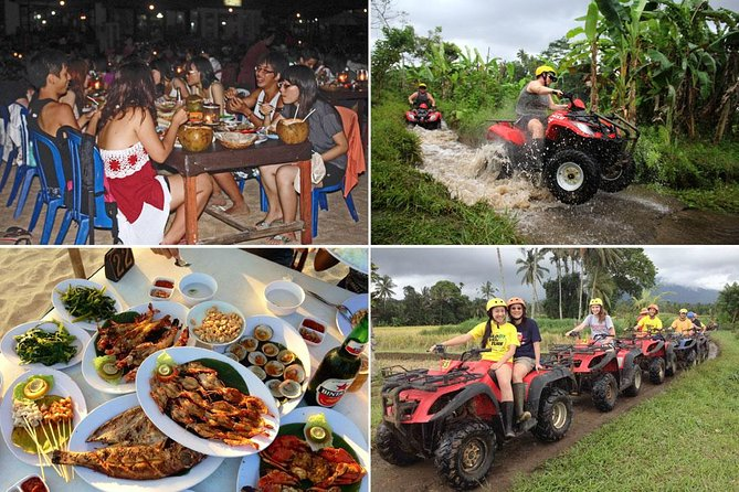Bali ATV Ride and Jimbaran Seafood Dinner Packages