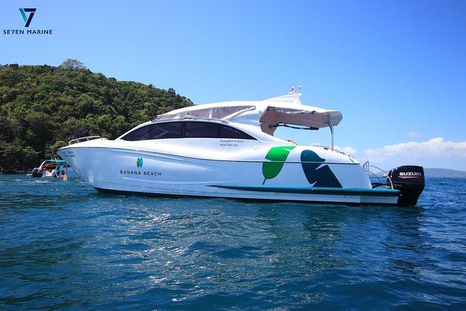 MOANA - Private Speedboat 2 engines to Racha Yai and Banana Beach, Coral Island