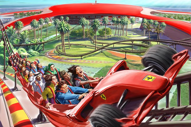 Abu Dhabi City & Ferrari World Full Day Tour (Admission Ticket Included)