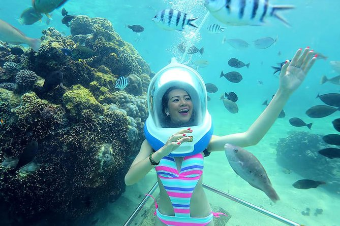Bali Activity: Sea Walking in Sanur Ocean and White Water Rafting