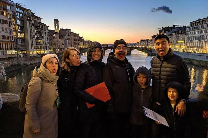 Kid-Friendly Florence Tour by Night with Gelato & Pizza