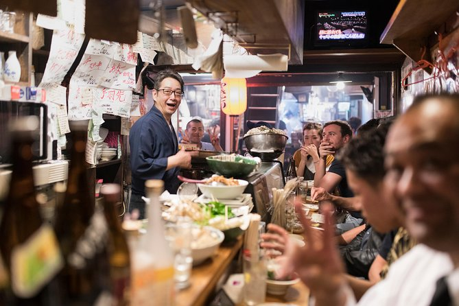 Food Tours Tokyo with a Local: From Ramen to Sushi...Private & Personalized