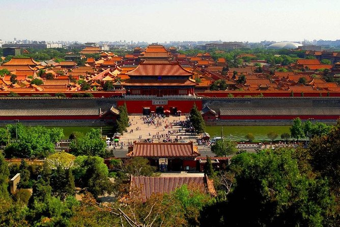 Skip The Line: 4-Hour Private Walking Tour to The Forbidden City and Jinshan Park
