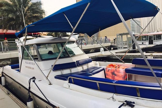 Luxury Boat: Cruising along Dubai Marina, Atlantis and Burj Al Arab