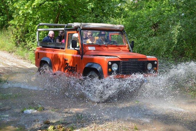 River Rafting and Jeep Safari Combo Tour From Alanya -Side -Antalya