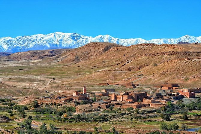 Sahara and High Atlas