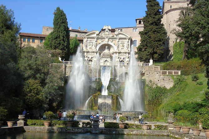Villa D'Este and Tivoli Halfday from Rome