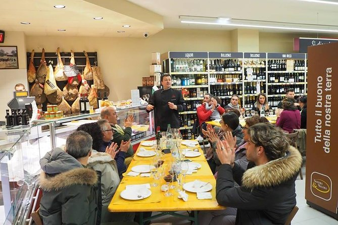 Baci Perugina Chocolate tour and Umbrian food tasting photo 2