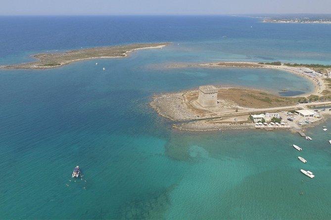 Tour privato in barca nell'Area Marina Protetta di Porto Cesareo