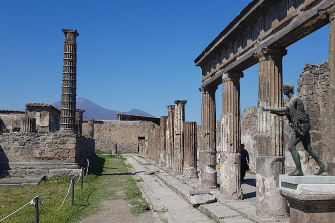 Pompeii DayTrip and Guided Tour