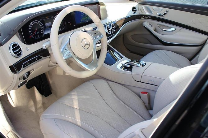 Luxury Car Mercedes Maybach Class Interior