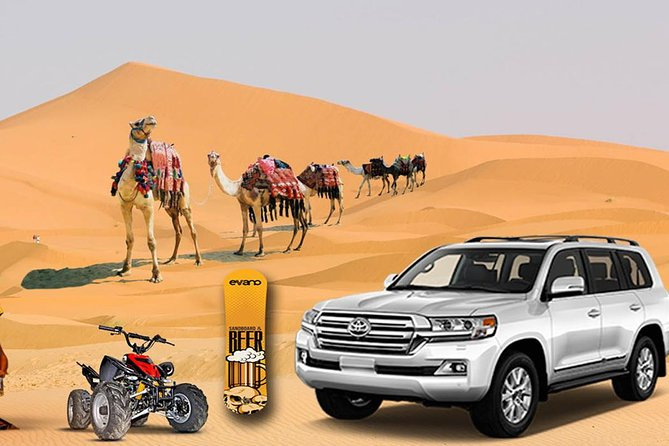 Desert Experience: Dinner and Emirati Activities ,Camel Ride Sand Board ATV Ride photo 1