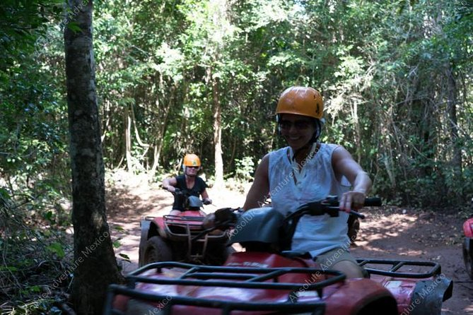 Private Jungle Tour ATV Zipline Cenote Half day trip photo 2