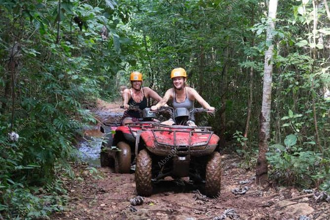 Private Jungle Tour ATV Zipline Cenote Half day trip photo 7