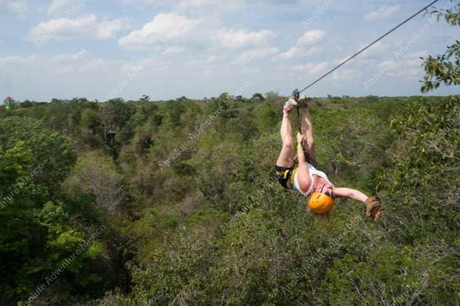 Private Jungle Tour ATV Zipline Cenote Half day trip photo 3