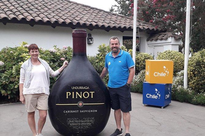 Private Full-Day Santiago City Tour and Undurraga Winery